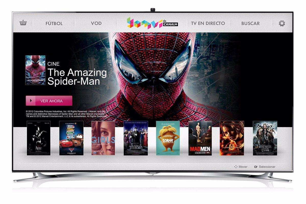 Yomvi Llega A Samsung Smart Tv Con La Liga Debajo Del Brazo
