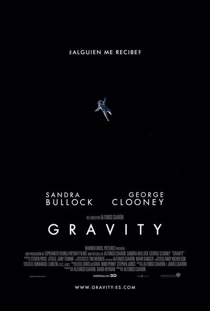 Nuevo póster de 'Gravity', lo último de Sandra Bullock y George Clooney