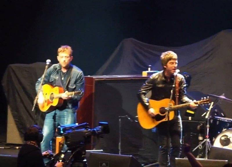¿Noel Gallagher y Damon Albarn trabajando juntos?