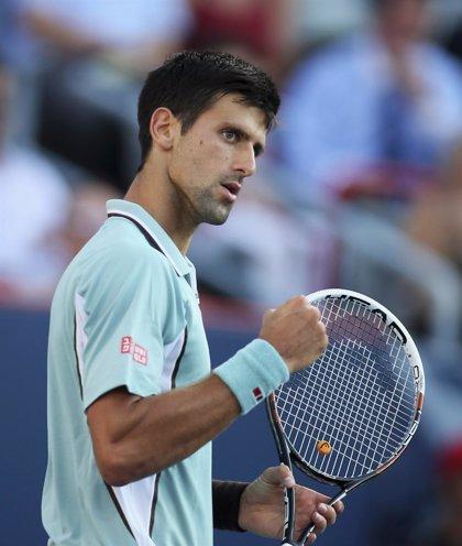 Djokovic se deshace de Goffin en 50 minutos y alcanza los cuartos