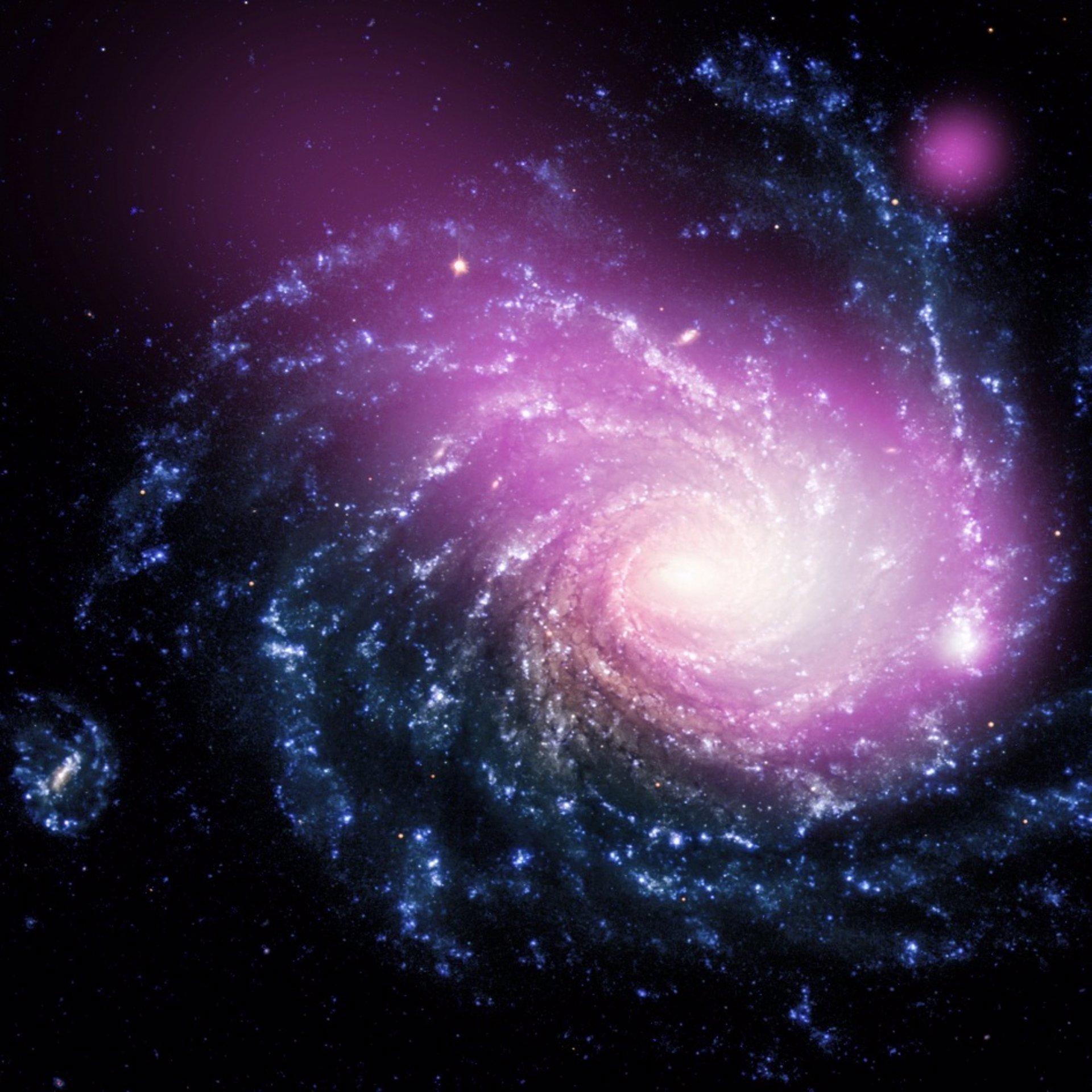 """Un choque de galaxias crea una nube masiva """"súper caliente"""""""