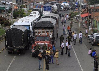 Tercer día de paro en Colombia con 85 detenidos y ocho heridos