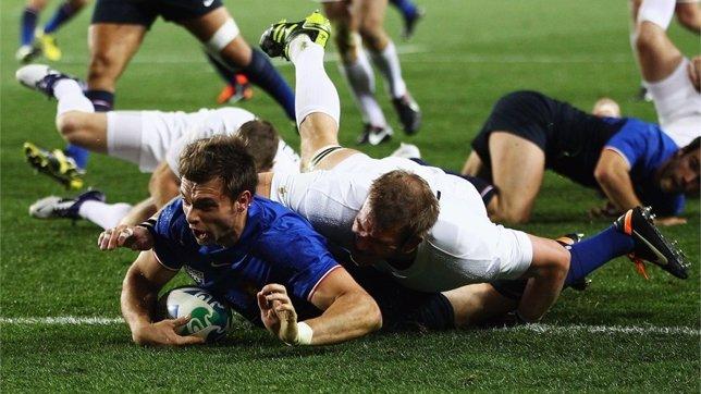 Francia E Inglaterra En El Mundial De Rugby
