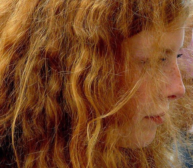 Pelirrojo, pelirroja, pelo rojo, cabello