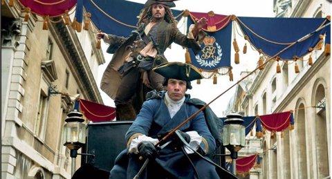 Jack Sparrow Piratas del Caribe