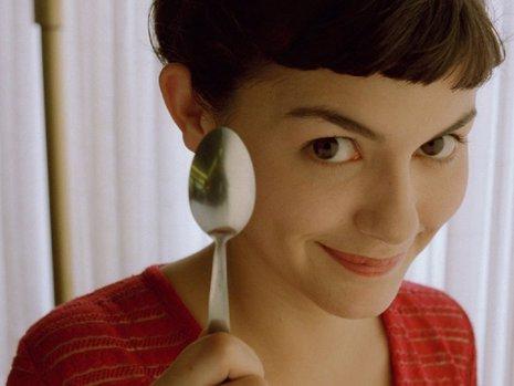 Audrey Tautou como Amélie