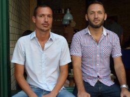 Los responsables de Connectum, Urs Hilger y Dirk Gruhne