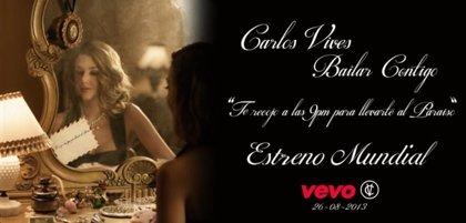 Ya puedes ver el videoclip de 'Bailar contigo', lo nuevo de Carlos Vives