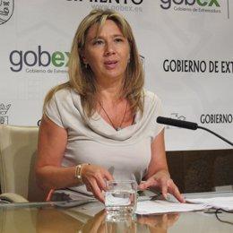Cristina Teniente, vicepresidenta Extremadura