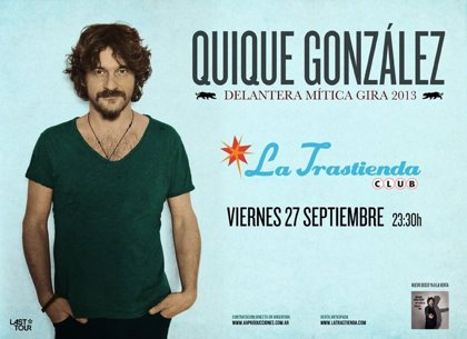 Quique González amplía su gira argentina