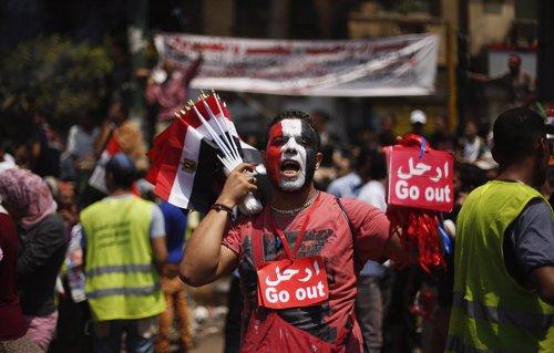 Protestas contra Mursi en Egipto
