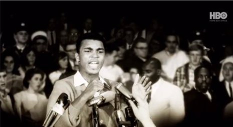Muhammad Ali en la película 'Muhammad Ali's Greatest Fight'