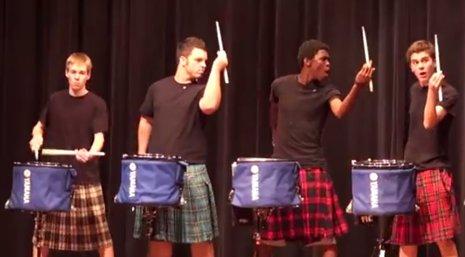 Impresionantes vídeos de percusión amateur