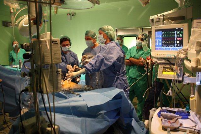 Cirugía, Operación, Quirófano, Médicos