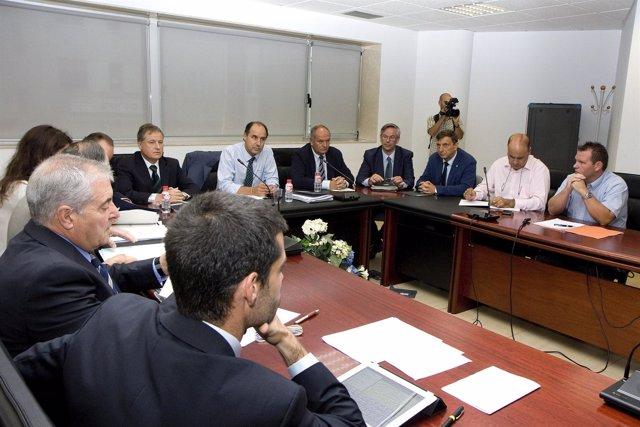 Reunión Sniace-Gobierno