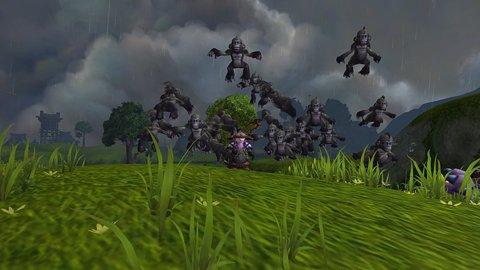 Captura del videojuego Warcraft