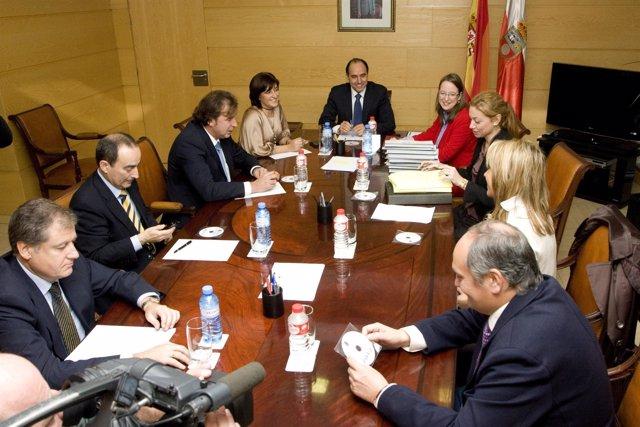 Reunión Consejo De Gobierno De Cantabria