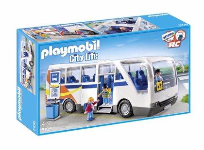 ¡Gana un autobús escolar de Playmobil con Hacer Familia!