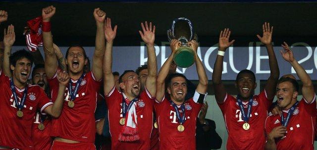 El Bayern es el Supercampeón