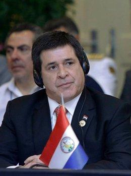 Cartes, presidente Paraguay, en Unasur