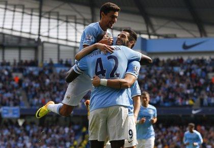 Fútbol/Premier.- Goles de Negredo y Touré dan la victoria al Manchester City ante el Hull