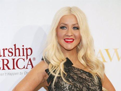 Christina Aguilera En Una Presentación