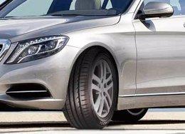 Neumáticos Hankook en el Mercedes-Benz Clase S