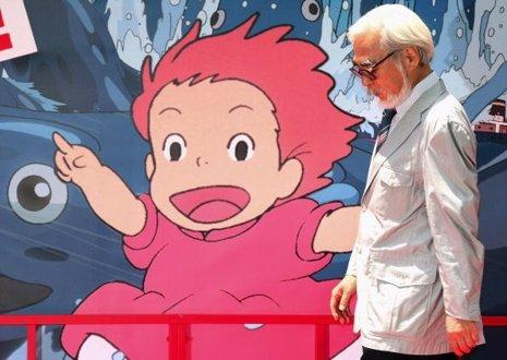 El director de animación Hayao Miyazakis deja el cine