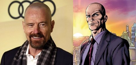 Bryan Cranston será Lex Luthor en 'Batman vs Superman'