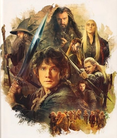 Nuevas imágenes de 'El hobbit: La desolación de Smaug'