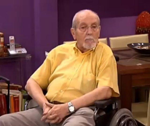 El actor Manuel Andrés González