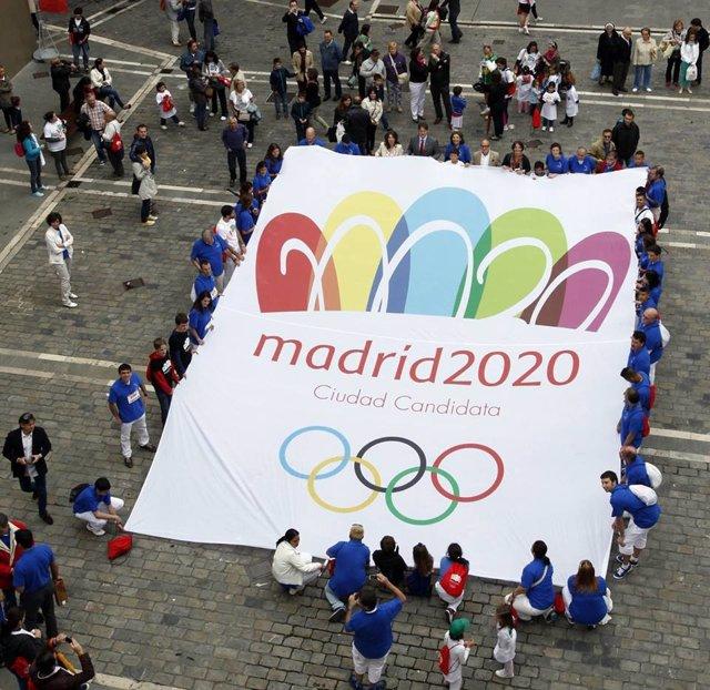 Apoyo a Madrid 2020