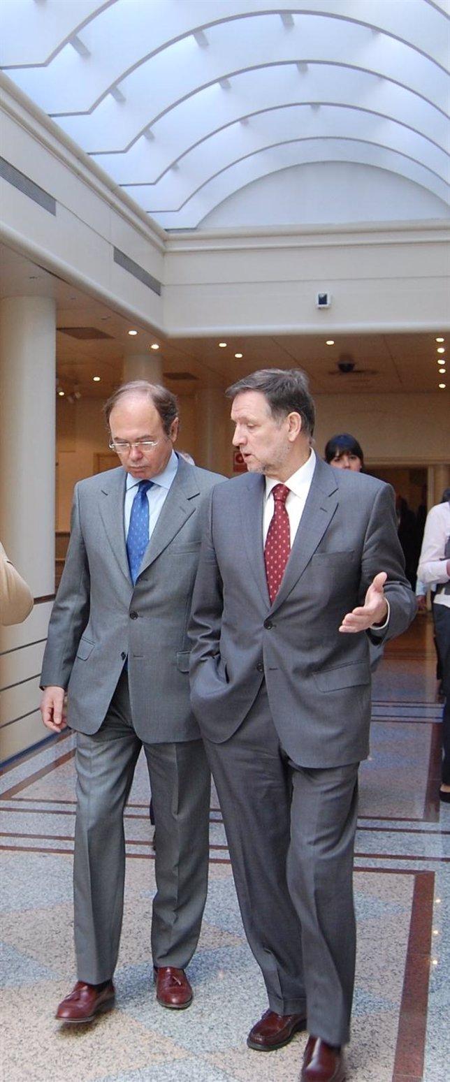Pío García-Escudero Y Marcelino Iglesias