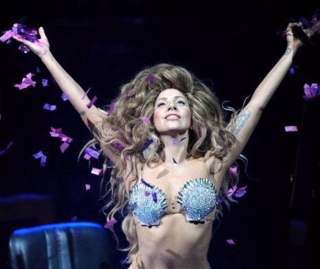Lady Gaga durante el iTunes Festival