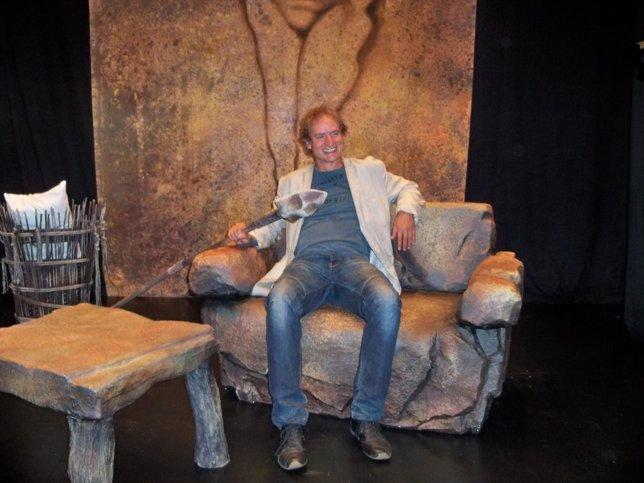 Nancho Novo, protagonista de 'El Cavernícola'
