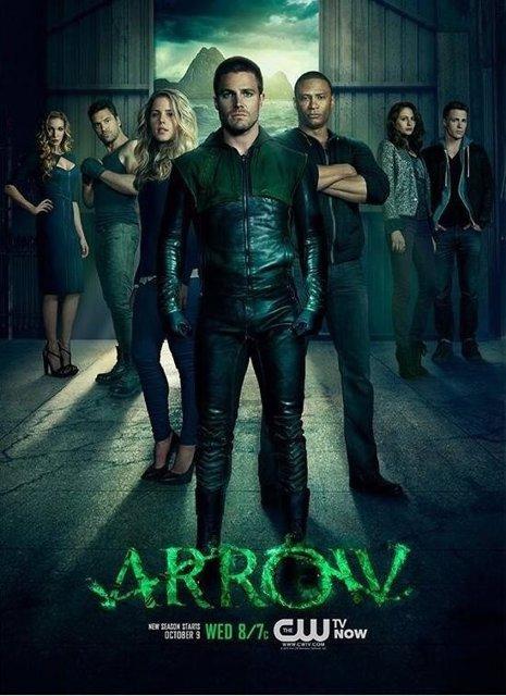 Primer poster de la segunda temporada de Arrow