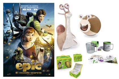EPIC: EL MUNDO SECRETO. Consigue un pack de merchandising de la película con Hacer Familia