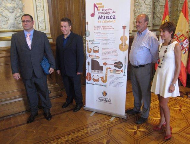Presentación de la nueva adjudicataria de la Escuela de Música de Valladolid