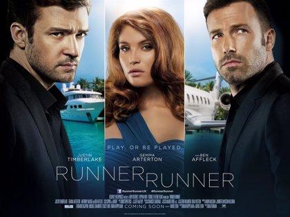 Nuevo tráiler de 'Runner Runner' repleto de acción, con Ben Affleck y Justin Timberlake