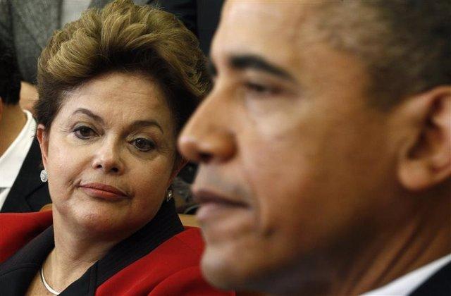 Foto de archivo de una reunión entra el presidente de Estaods Unidos, Barack Oba
