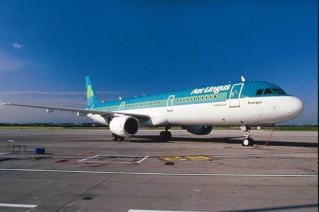 Aeronave De La Aerolínea Aer Lingus