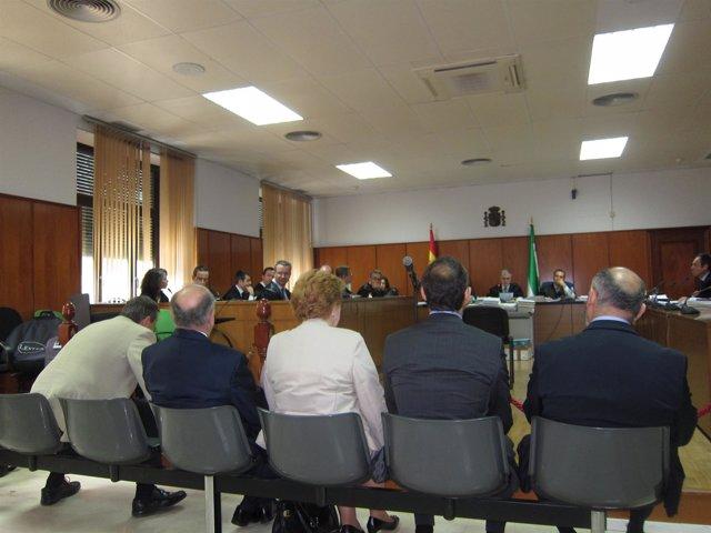 Sesión del juicio por el 'caso Rilco' en la Audiencia Provincial de Cádiz