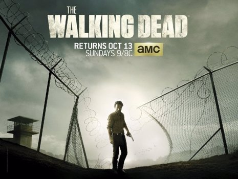 THE WALKING DEAD, POSTER 4 TEMPORADA