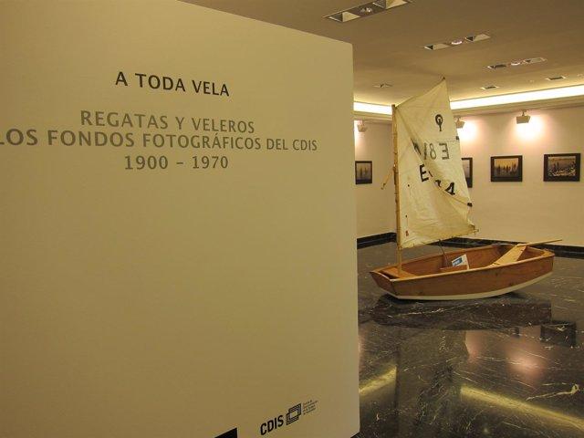 Exposición sobre vela en el CDIS