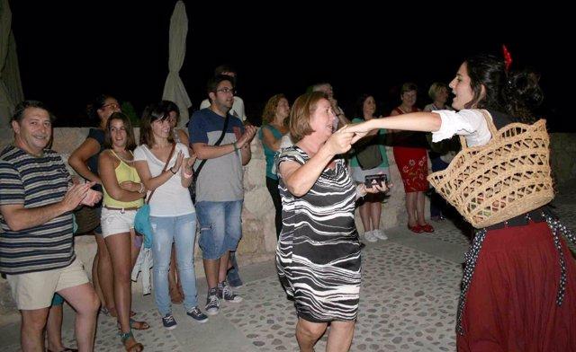 2.000 Personas Acuden En Agosto A Las Visitas Nocturnas Del Castillo De Caravaca