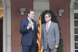 Moncloa no se pronuncia sobre la reunión entre Rajoy y Mas porque no informa de la agenda privada del presidente