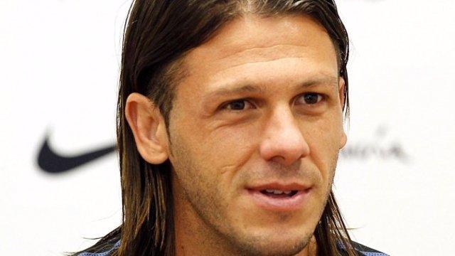 El Jugador Del Málaga CF Martín Demichelis