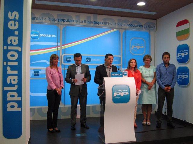 Diputados nacionales y senadores con Cuevas
