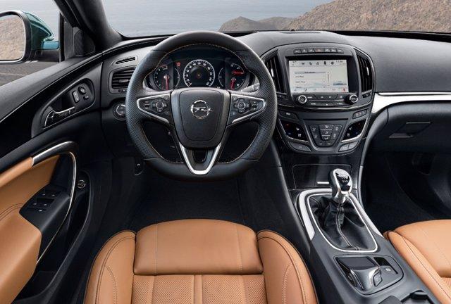 Sistema de información y entretenimiento del Opel Insignia