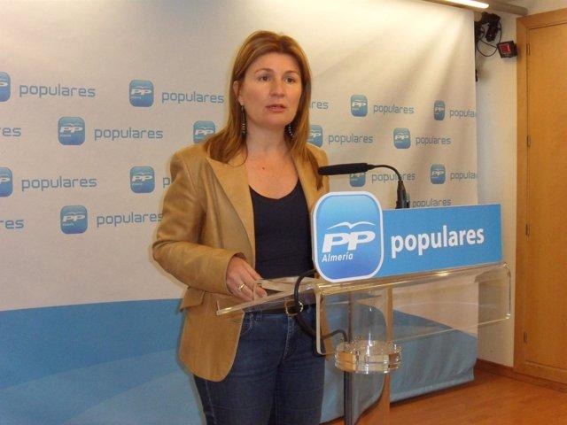 La parlamentaria andaluza del PP Rosalía Espinosa